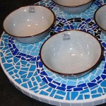 Mosaic turn table