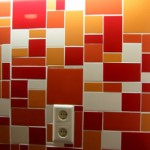 Mosaic kitchen wall